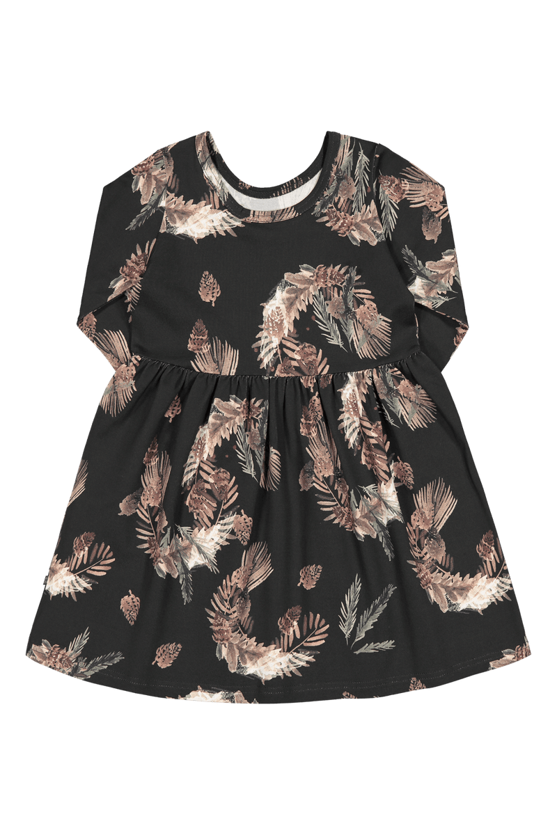 Pine Branch Dress Ls