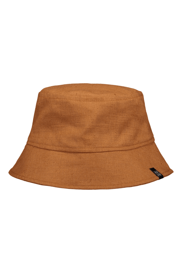 Bucket Sun Hat, Cognac