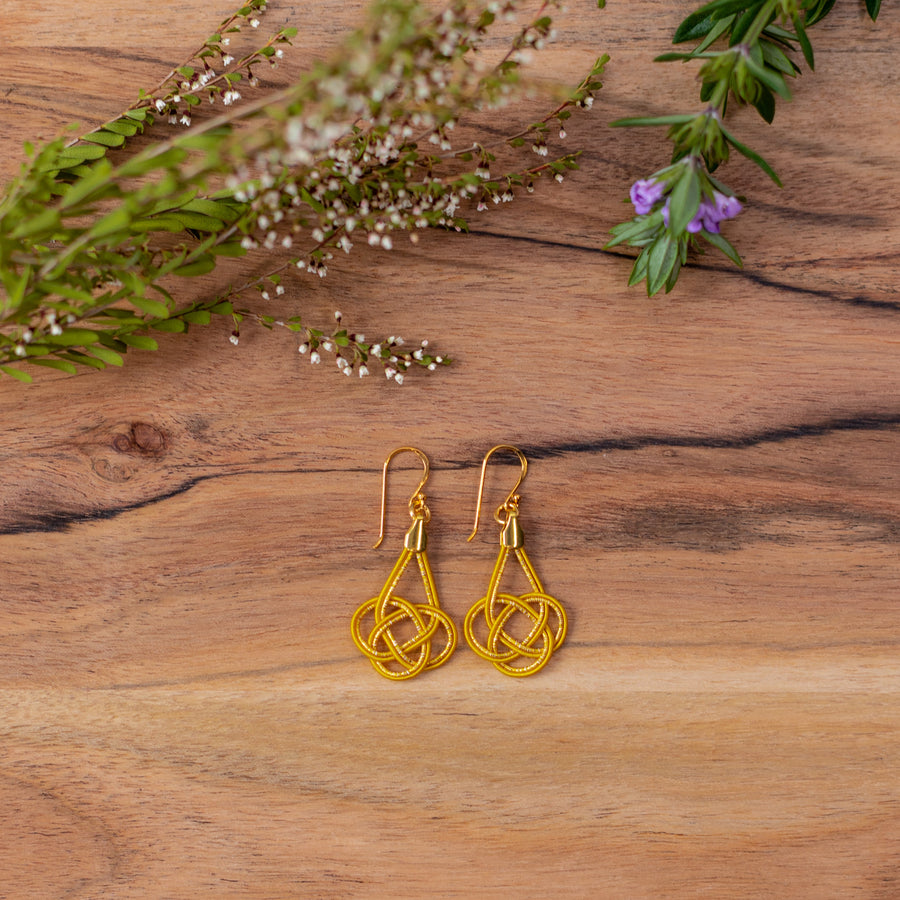 Maiko Petit Earrings - Golden Sunset