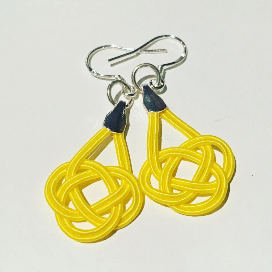 Maiko Petit Earrings - Sunflower Yellow