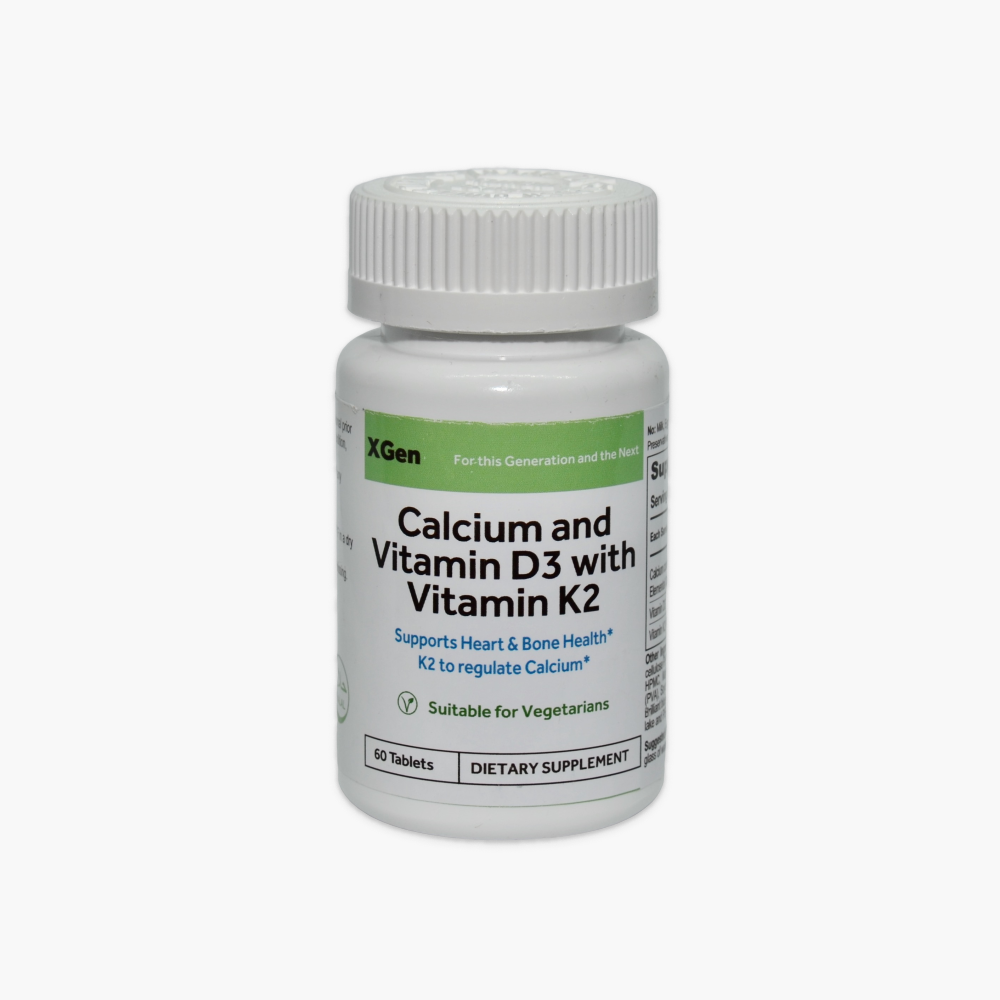 Calcium and Vitamin D3 with Vitamin K2
