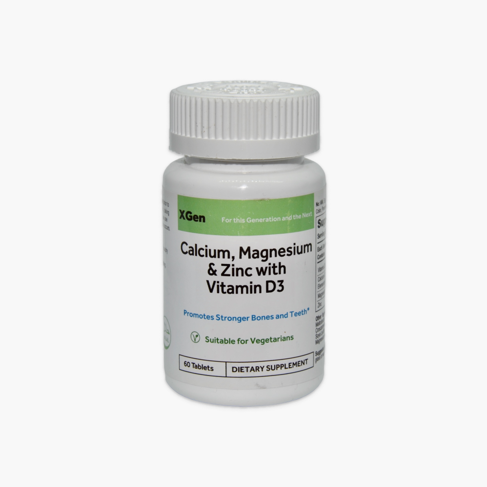 Calcium, Magnesium & Zinc with Vitamin D3