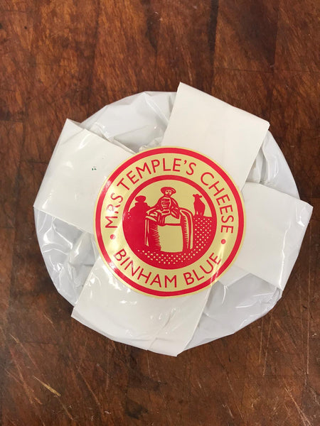 Mrs Temple's Binham Blue Cheese from Copys Farm, Wighton, Wells-next-the-sea