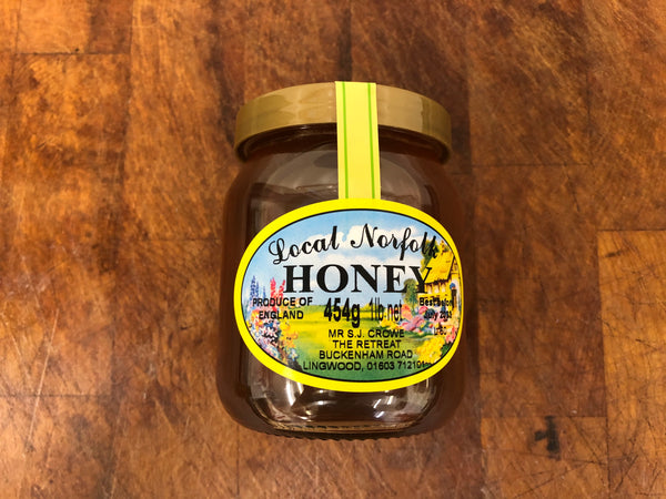 Local Norfolk Honey from The Retreat, Lingwood, Norwich