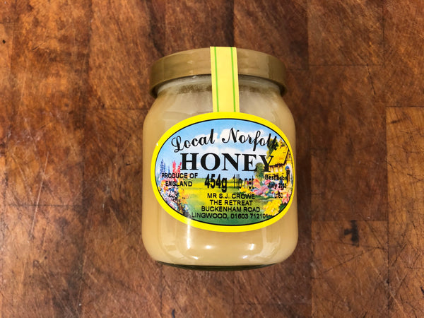 Local Norfolk Set Honey from The Retreat, Lingwood, Norwich