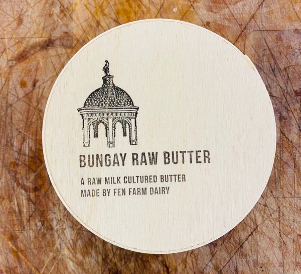 Bungay raw butter from Fen Farm Dairy, Bungay
