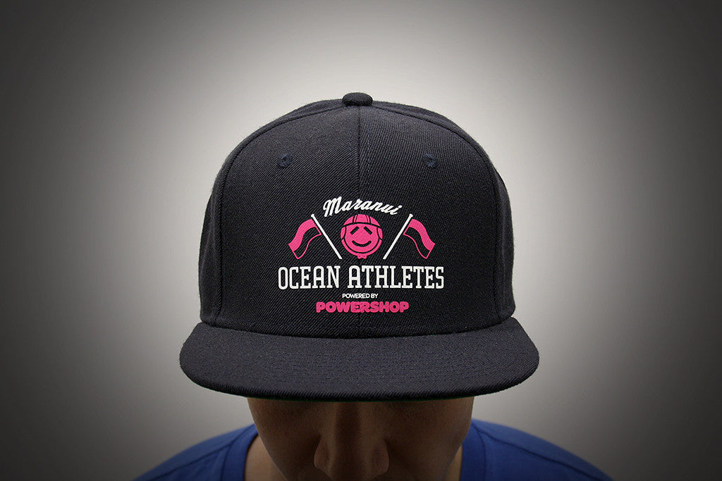 Maranui Ocean Athletes, 2 Colour Screen Printed Transfer