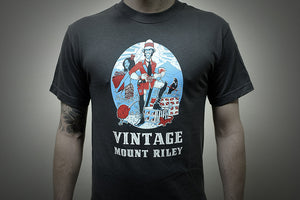 Mount Riley, 3 spot colour Screen Print