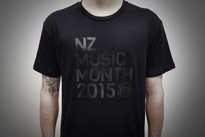 NZ Music Month, 1 colour Screen Print