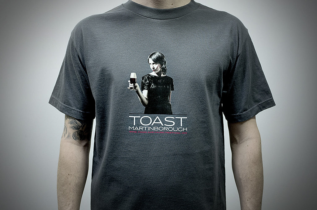 Toast Martinborough, 5 Colour Screen Print
