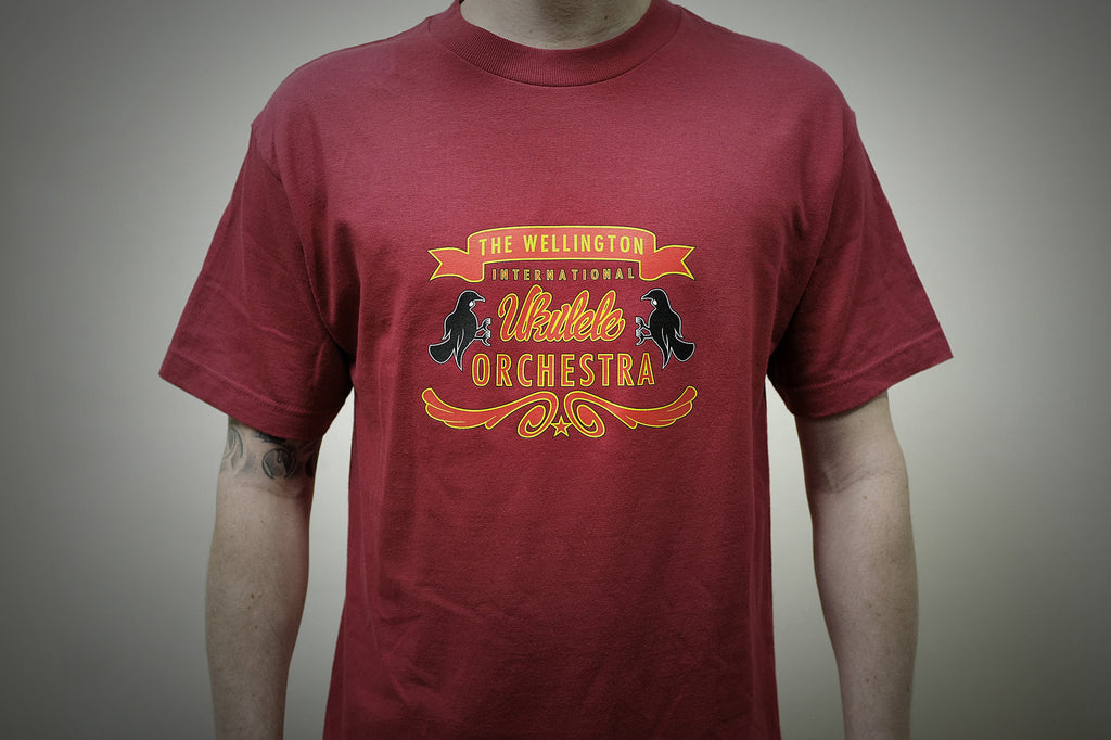 Ukulele Orchestra, 4 Colour Screen Print