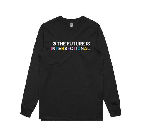 The Future is Intersectional -  Unisex Long Sleeve Tee