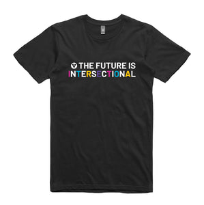 The Future is Intersectional - Unisex Crew Neck Tee