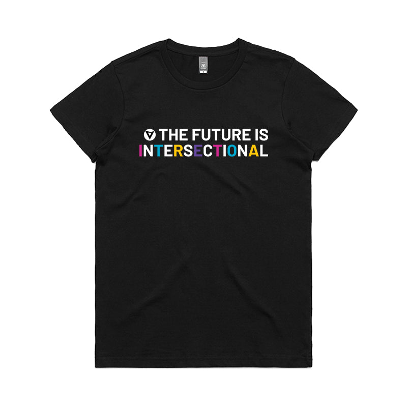 The Future is Intersectional - Women's Crew Neck Tee