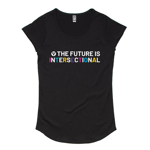 The Future is Intersectional - Women's Scoop Neck Tee