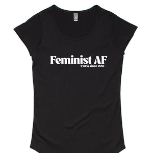 Feminist AF - Women's Scoop Neck Tee