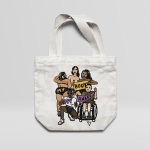 My Body My Rules - Large Tote Bag