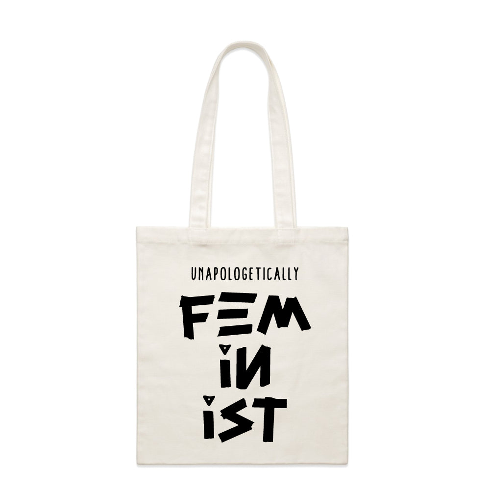 Unapologetically Feminist - Parcel Tote Bag