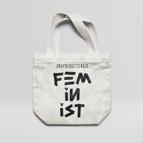 Unapologetically Feminist - Large Tote Bag