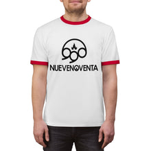 Load image into Gallery viewer, Camiseta Ringer NueveNoventa Banda de Rock Unisex