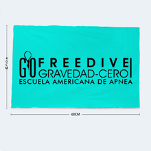 Load image into Gallery viewer, Freedive G0 Blue Bath Towel