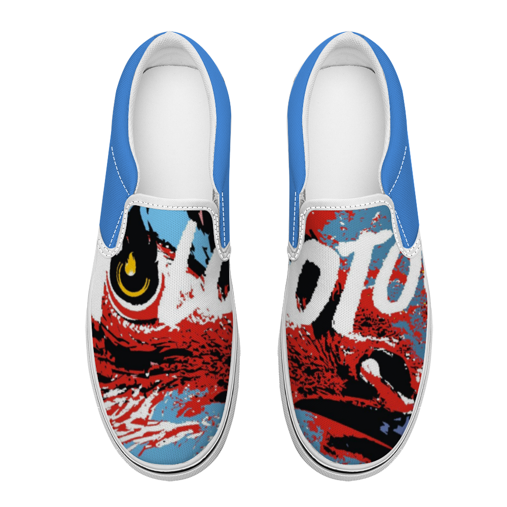 Doctor No Molotov Unisex Canvas Shoes