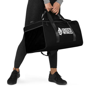 Cresta Metalica Black Duffle bag