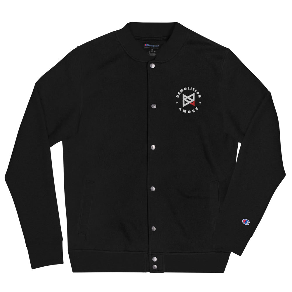 Demolition Amore Embroidered Champion Bomber Jacket