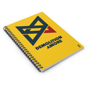 Demolition Amore Spiral Notebook - Ruled Line