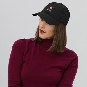 Melomania Distressed Dad Hat Black
