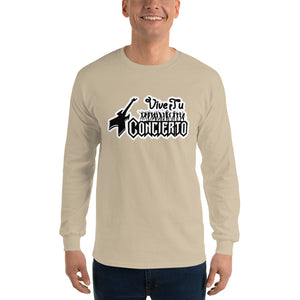Vive Tu Concierto Sand Men's Long Sleeve Shirt