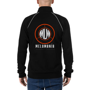 Melomania Piped Fleece Jacket Black