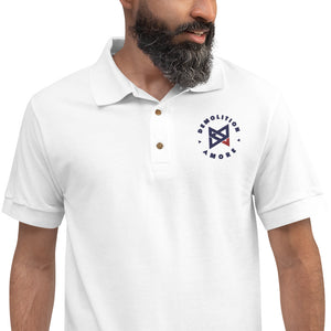 Demolition Amore Embroidered Polo Shirt