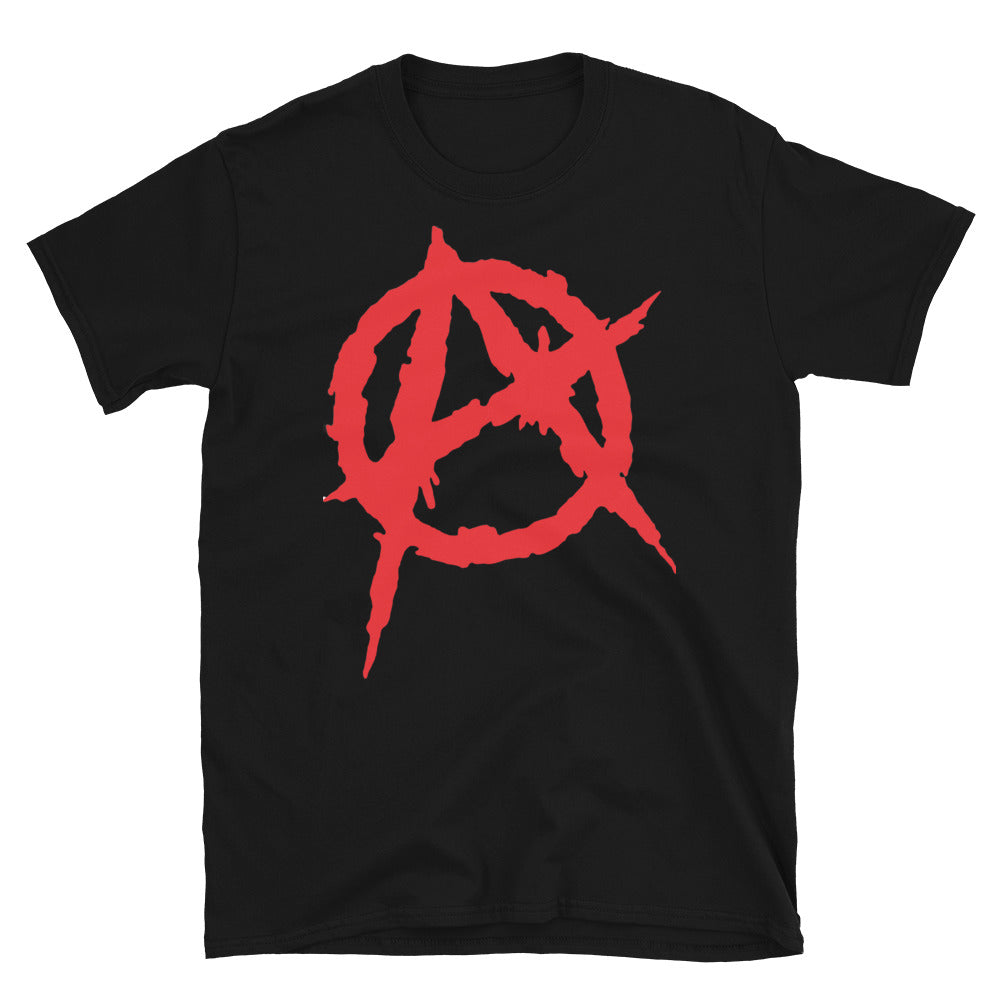 Camiseta Anarquia Punk Black