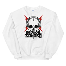 Load image into Gallery viewer, Sudadera Radikal Sonoro Unisex Blanco