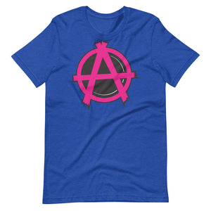 Camiseta Anarquia Punk Pink