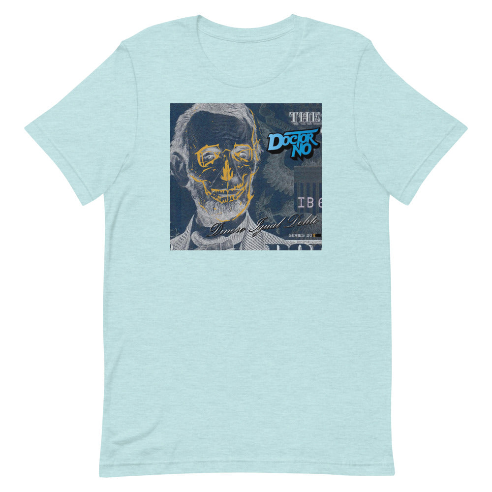Camiseta Doctor No Dinero igual Delito Ice Blue