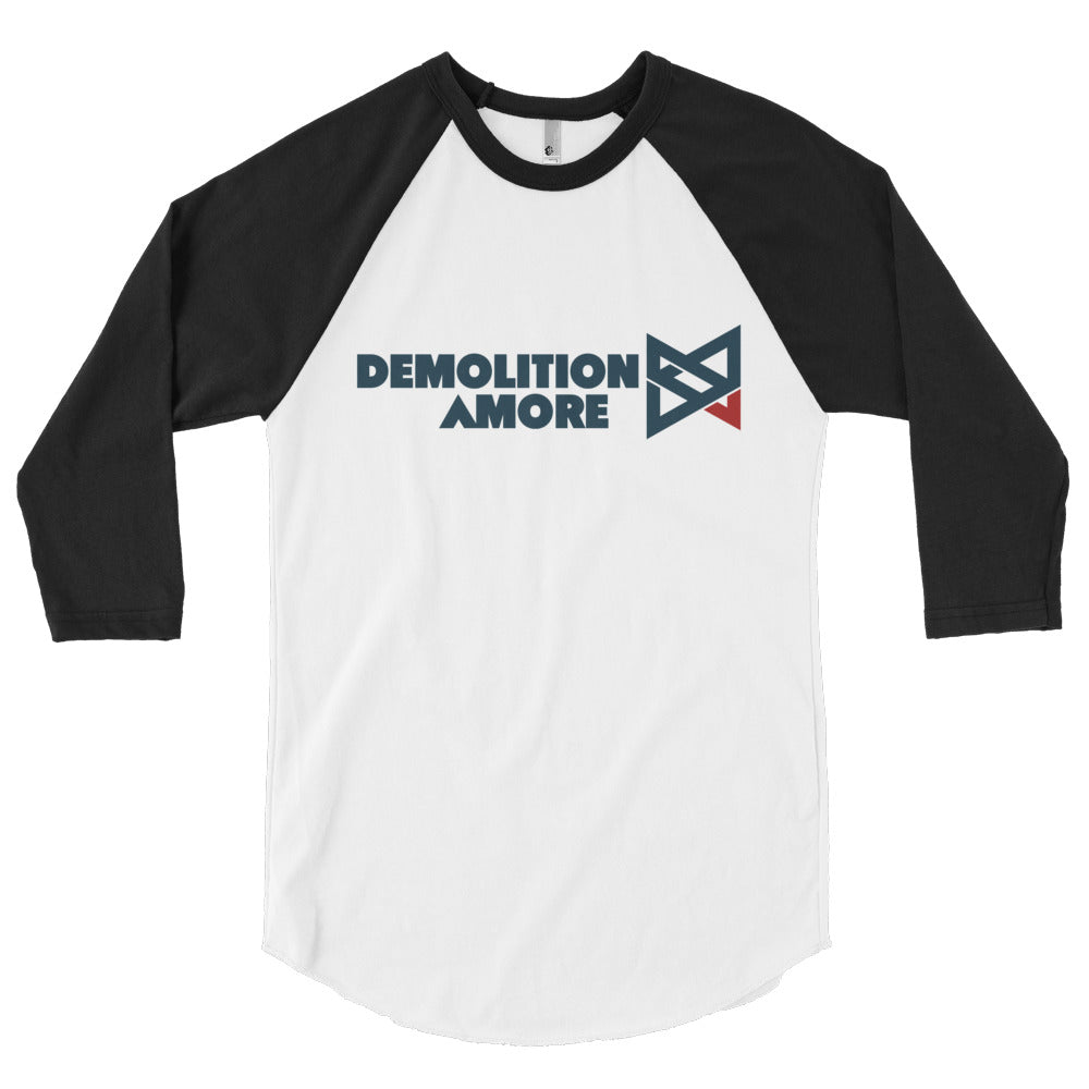 Demolition Amore 3/4 sleeve raglan shirt
