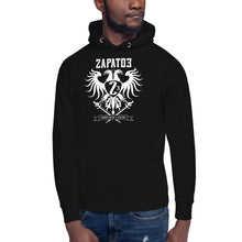 Load image into Gallery viewer, Sudadera con capucha Zapato3 Army HVL Black