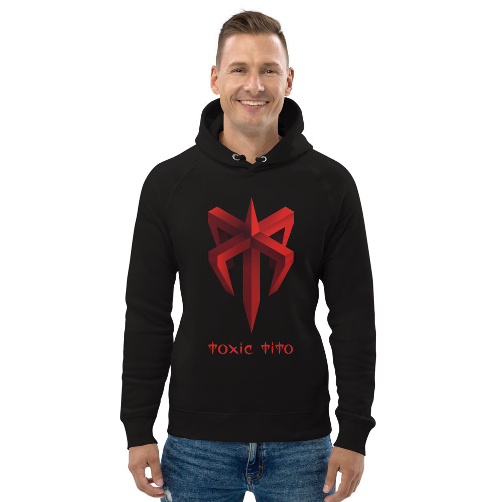 Toxic Tito Unisex pullover hoodie Black