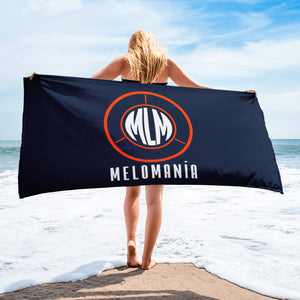 Melomania Sublimated Towel Navy