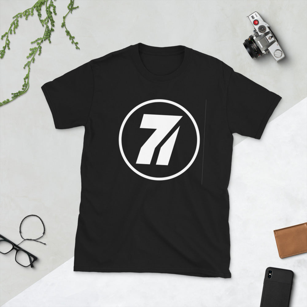 Séptimo Invitado 7 Black Short-Sleeve Unisex T-Shirt