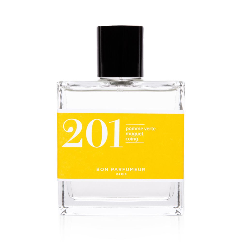 Eau de parfum 201: green apple, lily of the valley and quince