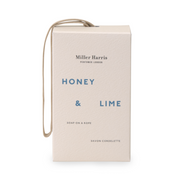 Load image into Gallery viewer, Honey and Lime Soap on a Rope