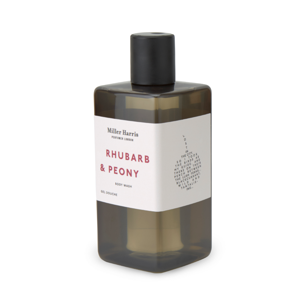 Rhubarb and Peony Body Wash
