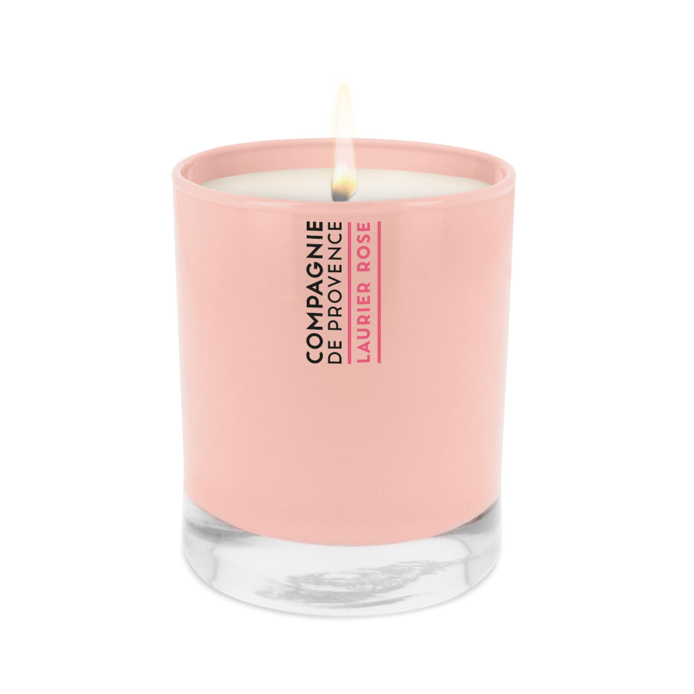 Scented Candle Rose Bay