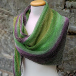 Colorful Cotton Blend Shawl and Scarf