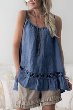 Round Neck Plain Tanks