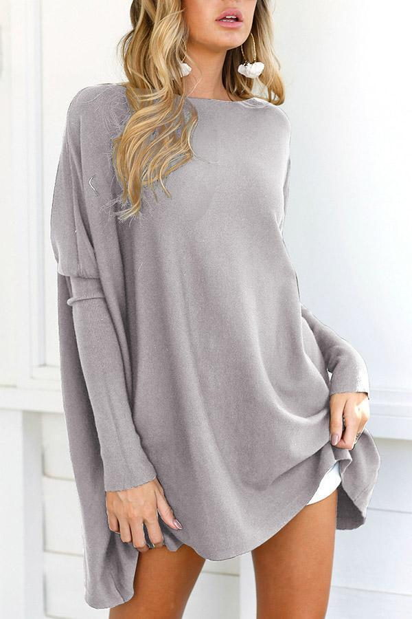 Round Neck Long Sleeves Casual T-shirts