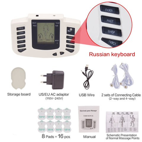 Electrical Tens Muscle Stimulator Therapy